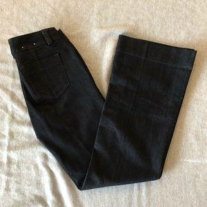 Banana Republic Dark Wide Leg Jeans